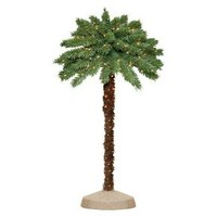 5' Pre-Lit Artificial Christmas Tree Palm - Clear Lights