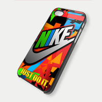 just do it nike logo TM00 iPhone 5 Case  iPhone 4 / by DeluxeCase