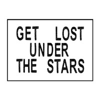 under the stars / A3 poster
