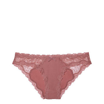 Lace-trim Cheekini Panty - Dream Angels - Victoria's Secret