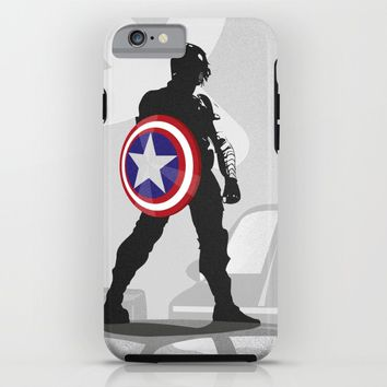 Bucky Barnes iPhone & iPod Case by Samantha Panther