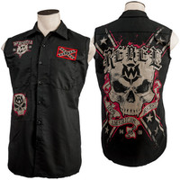 Custom Rebel Sleeveless Work Shirt