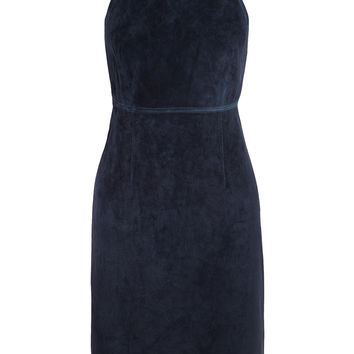 Theory - Lilita backless suede dress