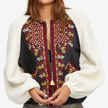Free People Two Faced Embroidered Jacket - Free People - Women - Macy's
