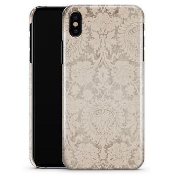 Faded Grunge Pattern of Royalty - iPhone X Clipit Case