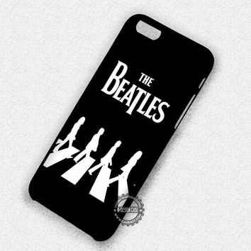 Crossing The Street The Beatles Vintage - iPhone 7 6 5 SE Cases & Covers