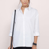 Perfect Fit Button Down Tunic Top
