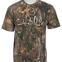 Salt Life Men's Camo Life Short Sleeve Tee