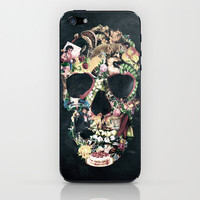 Vintage Skull iPhone & iPod Skin by Ali GULEC
