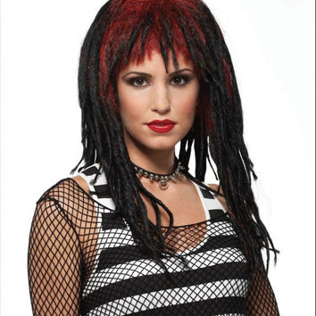 WIG DEMURE DREADS RED/BLACK