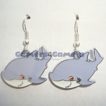 Free!- Rin/Shark Earrings earrings