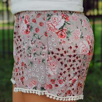 Crazy About You Shorts