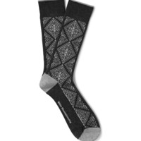 White Mountaineering - Fair Isle Knitted Socks | MR PORTER