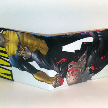Comic Book Wallet// Invincible beating Cecil Stedman