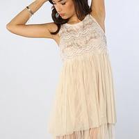 The Angelica Dress in Ivory
