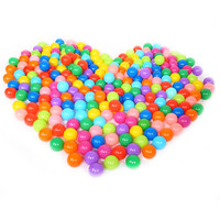 Cute Ocean Ball Eco Friendly Soft Plastic Tent Water Pool Ocean Wave Baby Toys 25pcs/50pcs/100pcs/lot Beach Ball