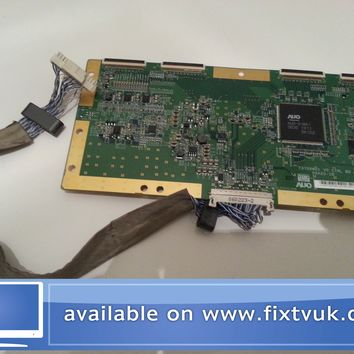y67 samsung le37r72b t370xw01 v0 ctrl bd 05a20-1b t-con board plus cable 060223-2