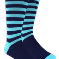 Sportsmen Stripe  - Aqua