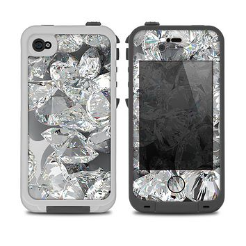 The Scattered Diamonds Skin for the iPhone 4-4s LifeProof Case