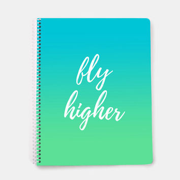 Motivational Quotes For Girls, Personalized Spiral Notebook, Travel Journal, Gifts For Writers Journal, Best Friend Gift for Teen Girls