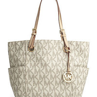 MICHAEL Michael Kors Handbag, Signature Tote - Handbags - Handbags & Accessories - Macy's