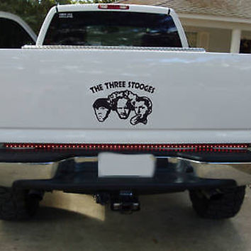 "THE THREE STOOGES Window Bumper Sticker DECAL 12""X10"""