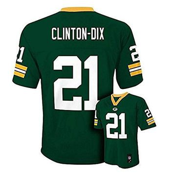 Ha Ha Clinton-Dix Green Bay Packers NFL Youth Green Home Mid-Tier Jersey