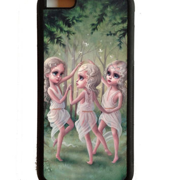 The Three Graces  iPhone 5C cell phone case cover - by Mab Graves