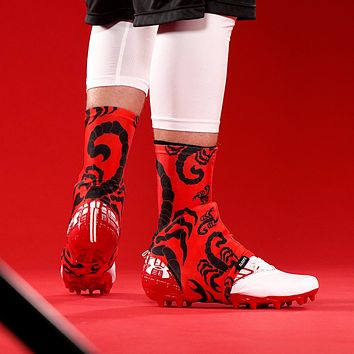 Scorpions Red Spats / Cleat Covers