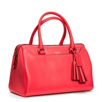 Coach :: Legacy Haley Satchel In Leather
