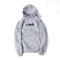SUPREME Hooded Pullover Sweatshirt