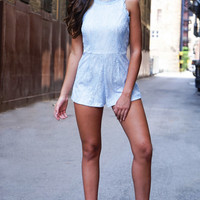 With Or Without You Romper