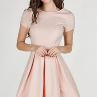 Pinky Promise Open Back Dress