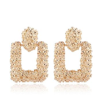 Tessa- Vintage Square Earrings
