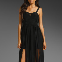 keepsake Speed of Sound Maxi Dress in Black from REVOLVEclothing.com
