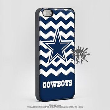 Dallas Cowboys Chevron Phone Case For Iphone, Ipod, Samsung Galaxy, Htc