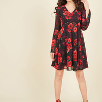 Dish the Flirt Dress | Mod Retro Vintage Dresses | ModCloth.com