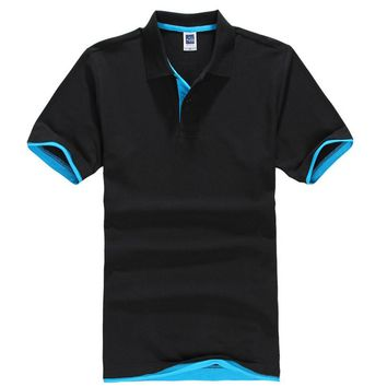 2016 Men's Polo Shirt For Men Desigual Polos Men Cotton