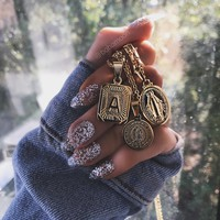 Luxe Initial Gold Necklace