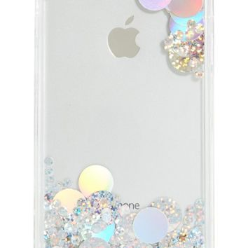 Skinnydip Holo Circle Jelly iPhone 6/7 & 6/7 Plus | Nordstrom