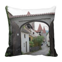 Amberg - Open Gate Throw Pillows