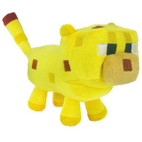 Minecraft 6'' Ocelot Plush Licensed NEW