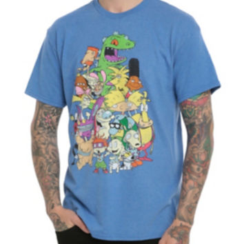 Nickelodeon Retro Nicktoons T-Shirt