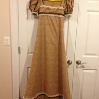 Regency-Era Women's Costume - Size 6