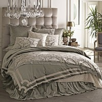Lili Alessandra Versailles Silver Duvet Cover or Set