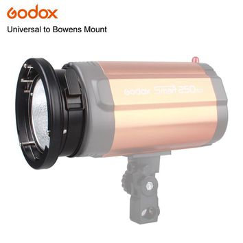Godox Universal Mount To Bowens Mounts Ring Adapter Studio Flash Strobe 120W 250W 300W K-150A 250SDI 300DI Lamp