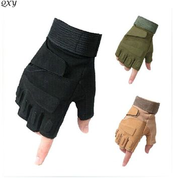 Blackhawks US special forces military tactical gloves slip sports half-finger gloves fitness fight