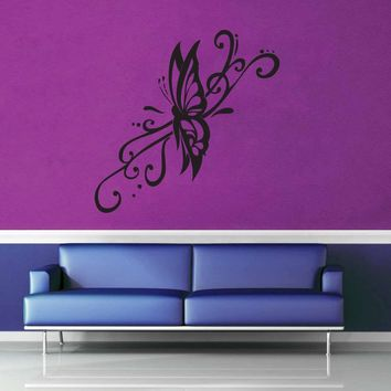 Butterfly - Wall Decal - No 8$8.95