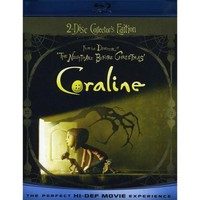 Coraline (Blu-ray + Standard DVD) (With INSTAWATCH) (Widescreen) - Walmart.com