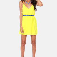 Show and Tell Yellow Dress